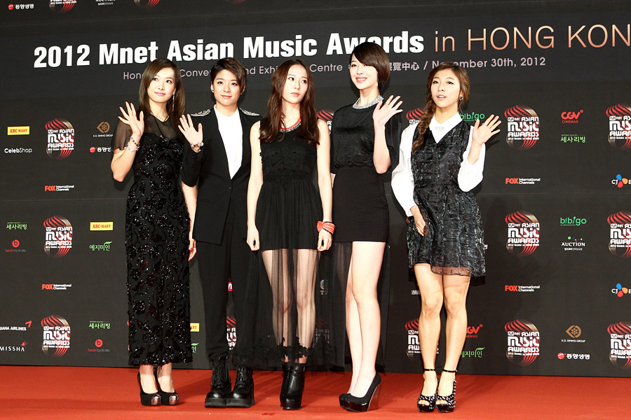 Mama 2012 Red Carpet Pictorials K Pop Concerts