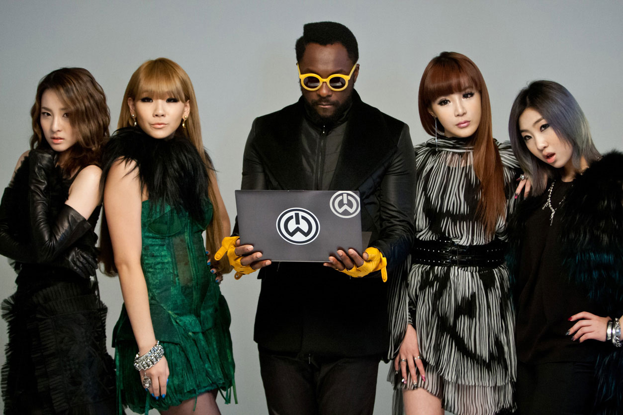 2ne1 And Will I Am Release New Track Take The World On K Pop Concerts